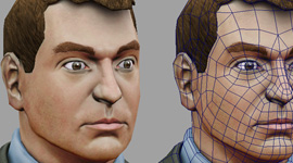 FBI Agent | Head Texture