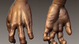 Wolfman | Hand Zbrush