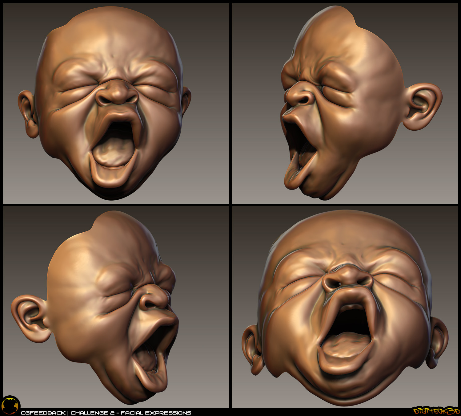 Baby Expression | Zbrush