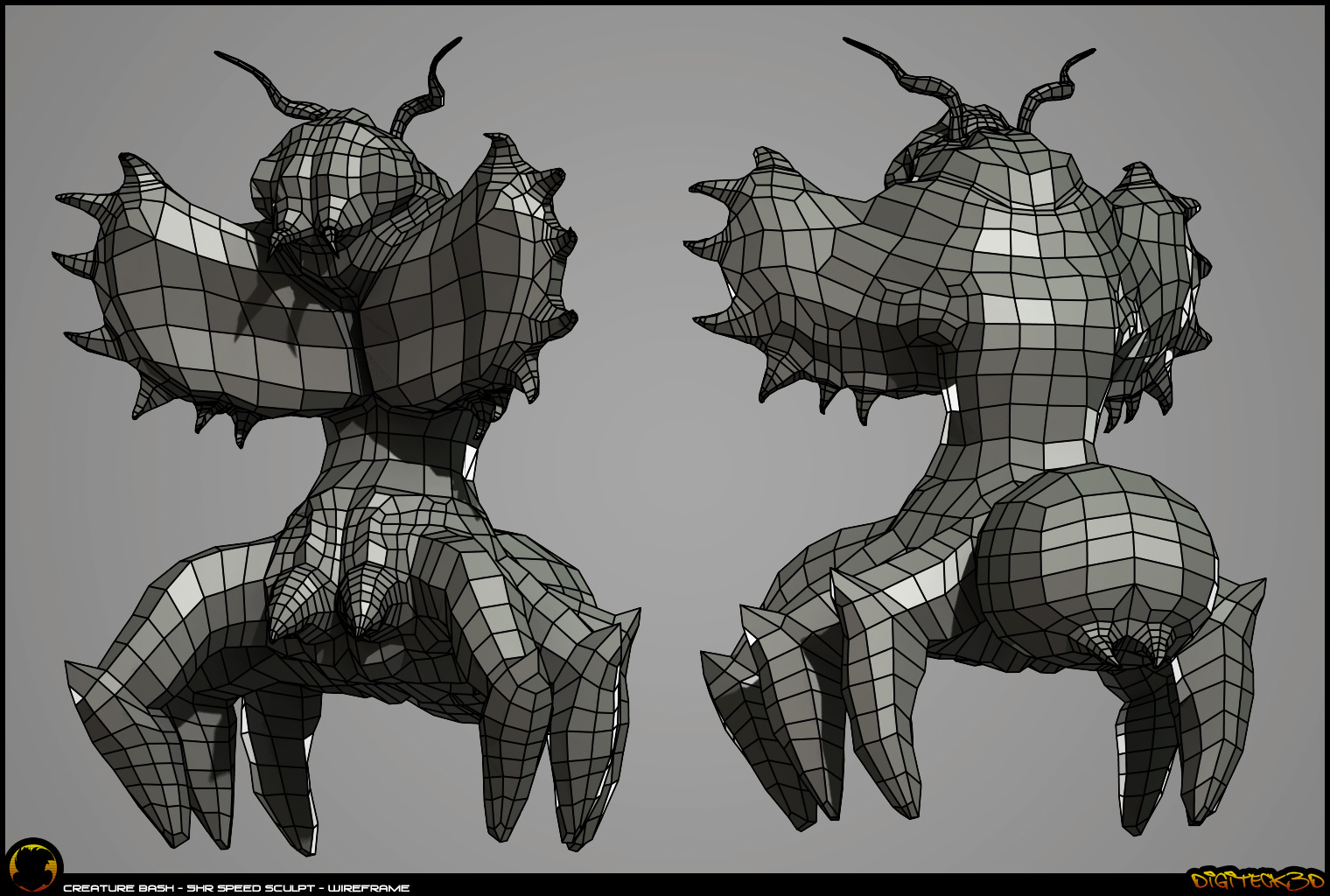 Creature 00 | Wireframe