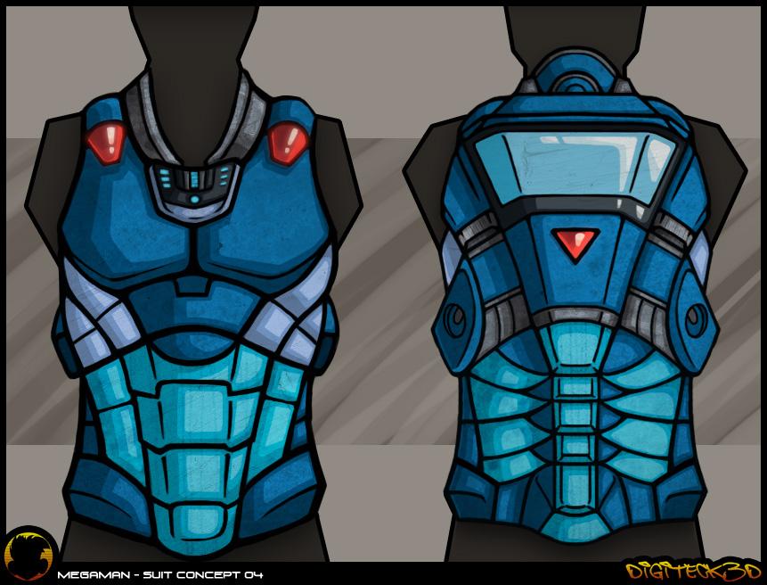 Mega Man | Armor Concept