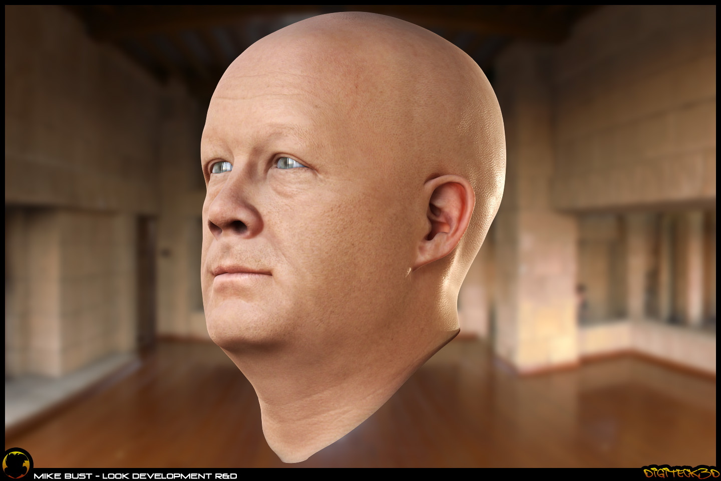 Mike Bust | Head Skin Shader